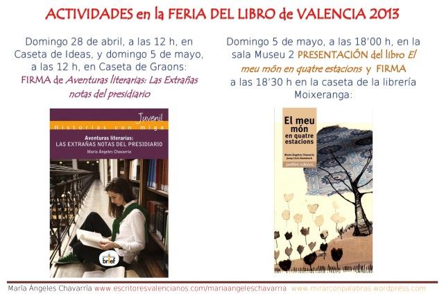 Actividades Feria libro Valencia (2)