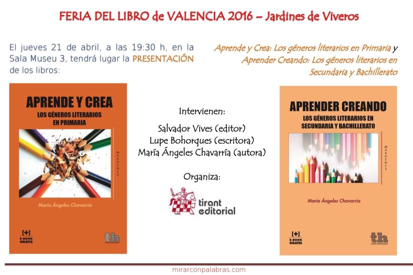 Actividades Feria libro Valencia