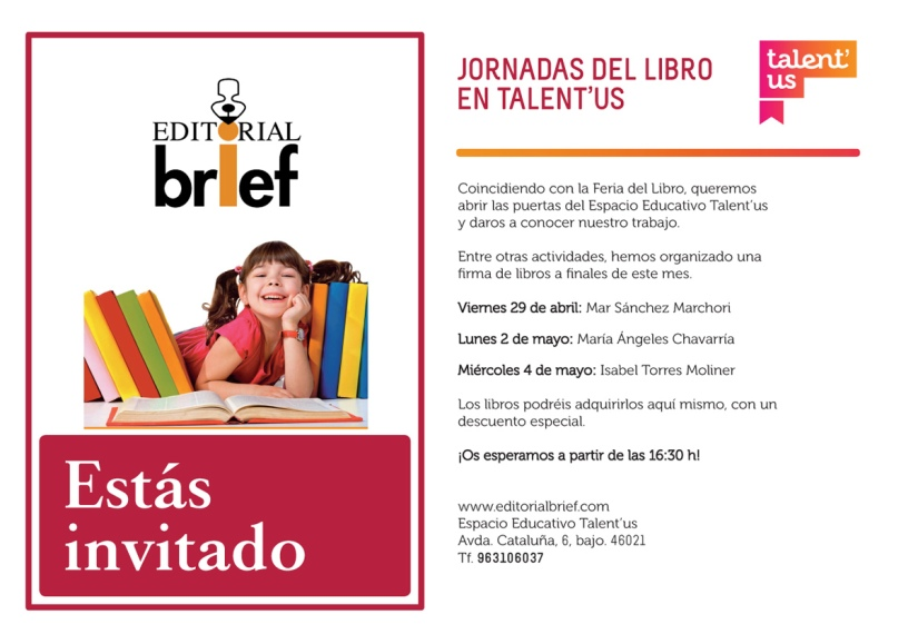Cartel_Firmas_libros_Talent_us