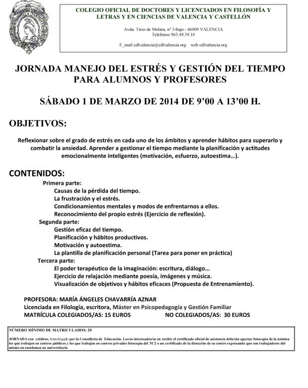 Microsoft Word - JORNADA MANEJO DEL ESTRÉS Y GESTIÓN DEL TIEMPO