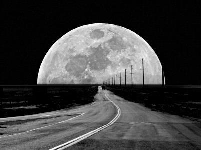 camino y luna