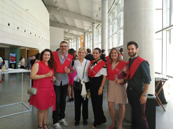 Con alumnos del Máster en Formación del Profesorado