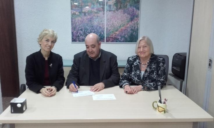 María Ángeles Chavarría Armando Luján y María Jesús Recio 1