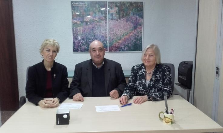 María Ángeles Chavarría Armando Luján y María Jesús Recio 2