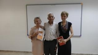 Con Lupe Bohorques y Ricardo Llopesa