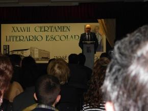 Intervención de Fernando Méndez, director del CEIP José Luis Hidalgo