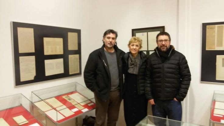 3 con Rafael Fombellida y Carlos Alcorta