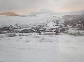 Vistas desde el tren