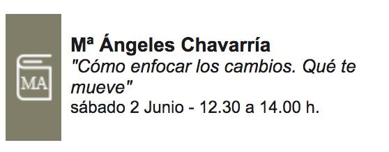Firma María Ángeles Chavarría