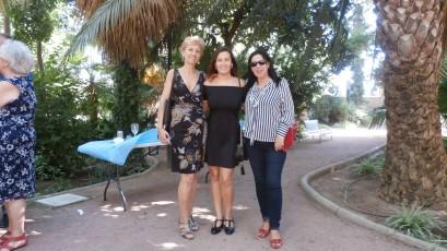Con Bibiana Collado y Mila Villanueva