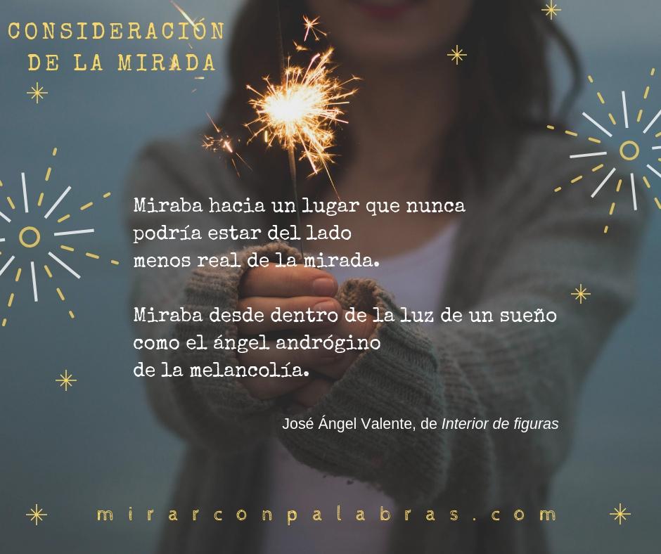 CONSIDERACIÓN DE LA MIRADA (J.A.Valente)