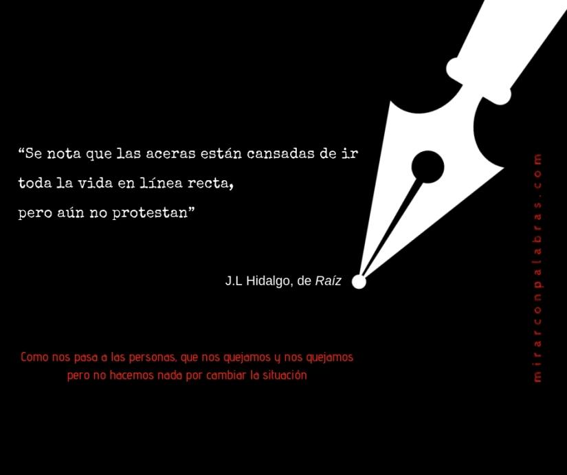 Se nota que las aceras (J.L.Hidalgo)