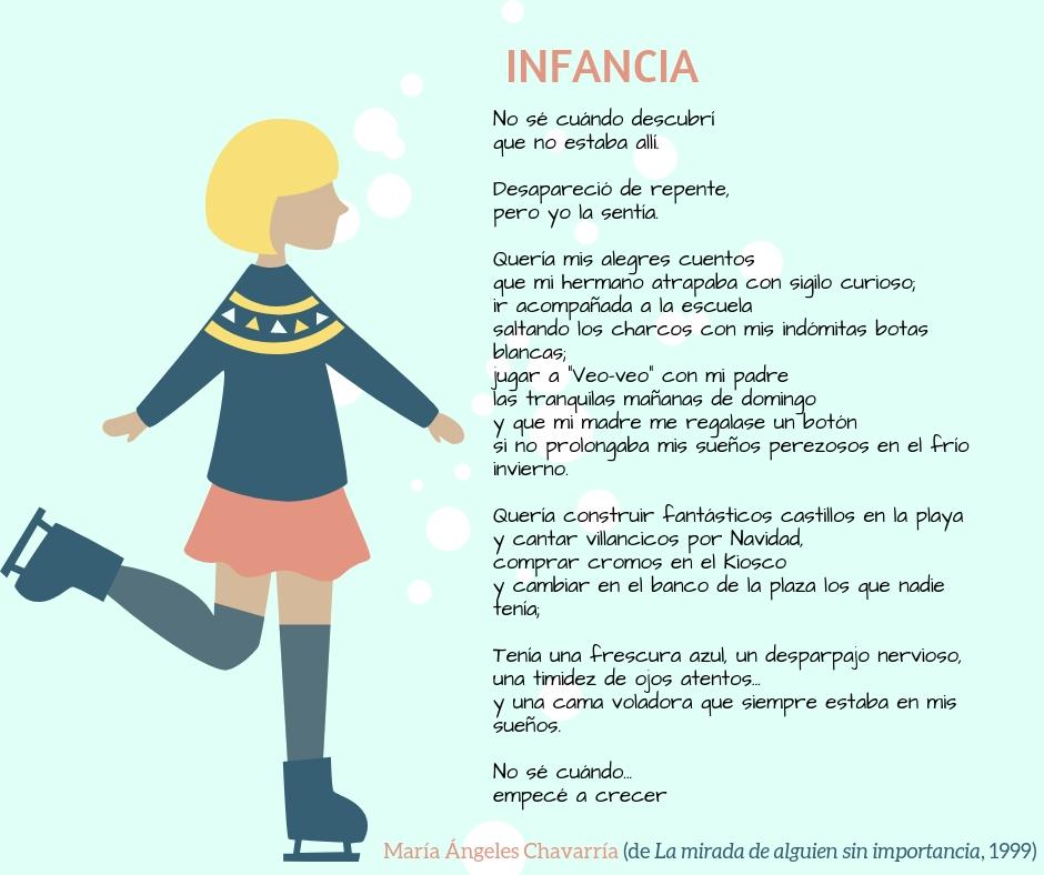 INFANCIA maria-angeles-chavarria La mirada...