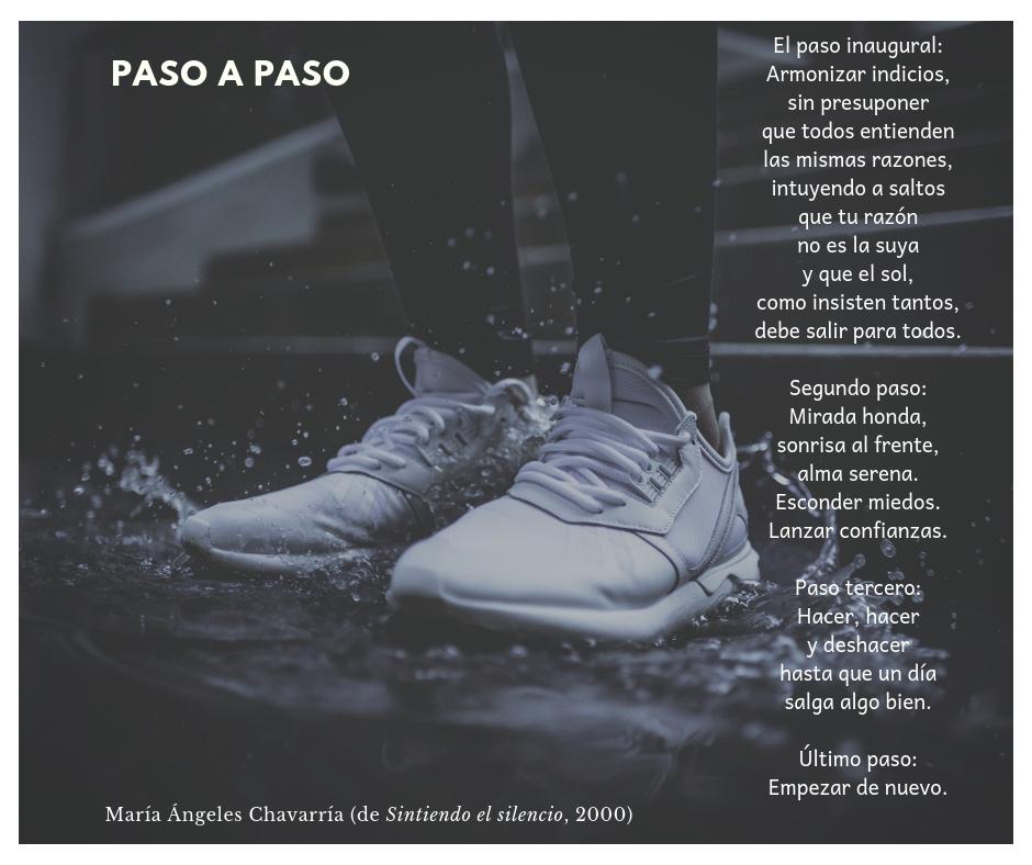 PASO A PASO maria-angeles-chavarria Sintiendo el silencio